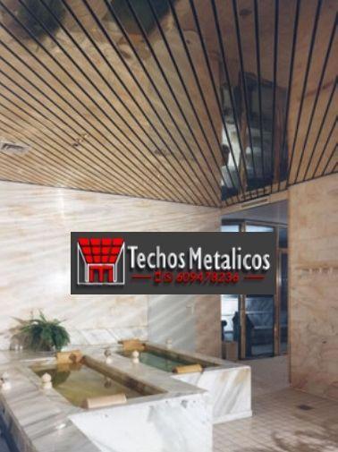 Techos de aluminio en Torre Endoménech