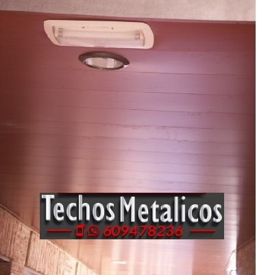 Techos de aluminio en Torrenueva