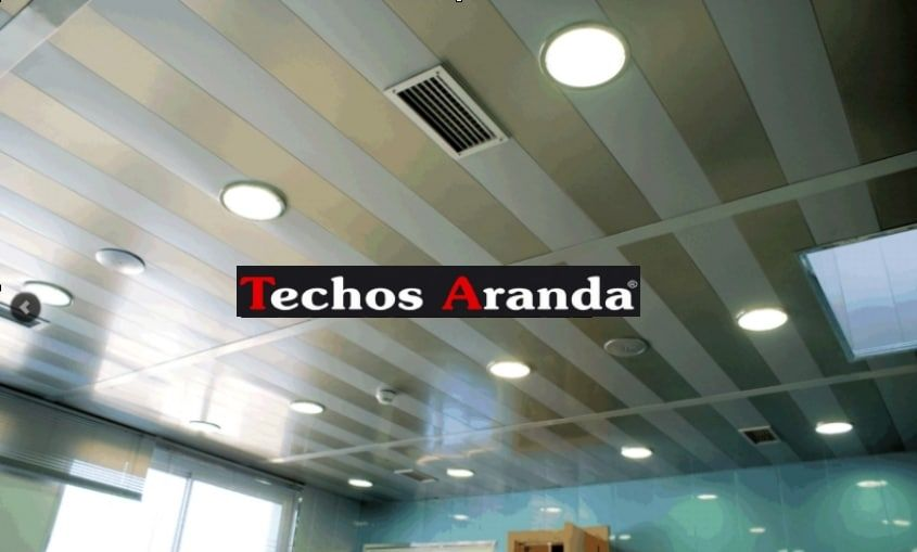 Techos de aluminio en Vila sacra