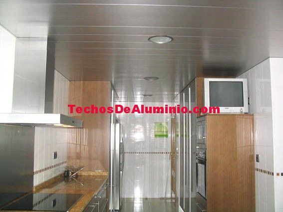 Techos de aluminio en Vilademuls