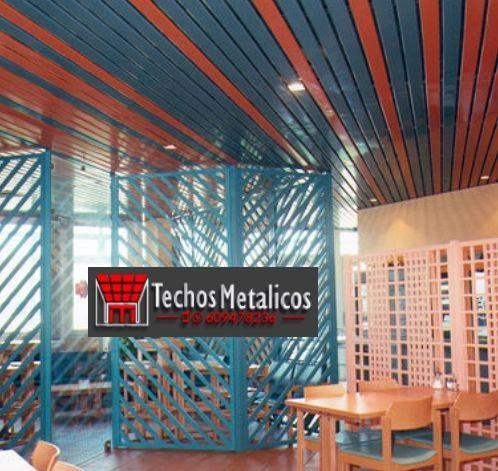 Techos de aluminio en Villanueva de la Fuente