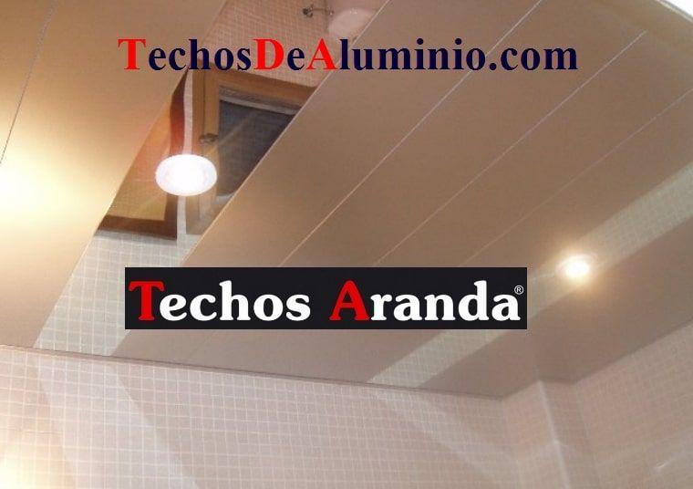 Falsos techos de aluminio en Ávila