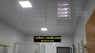 Falsos techos de aluminio en Cambrils