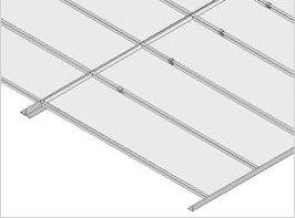 Falsos techos de aluminio en Carballo