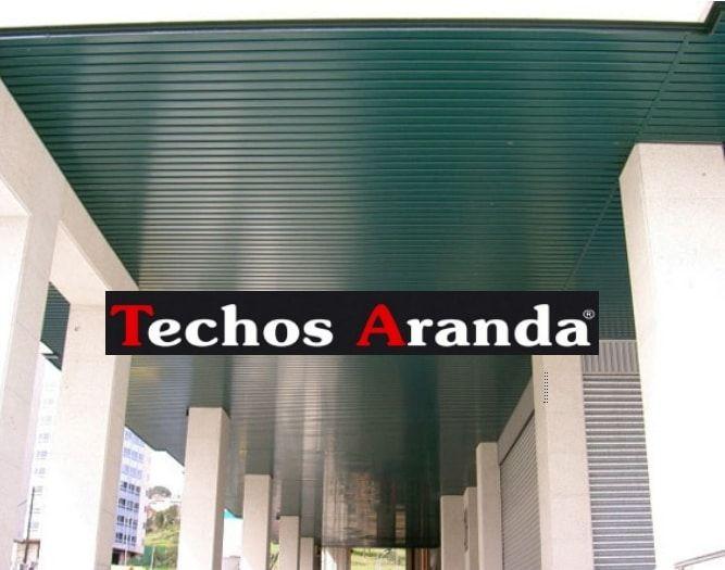Falsos techos de aluminio en Galdácano