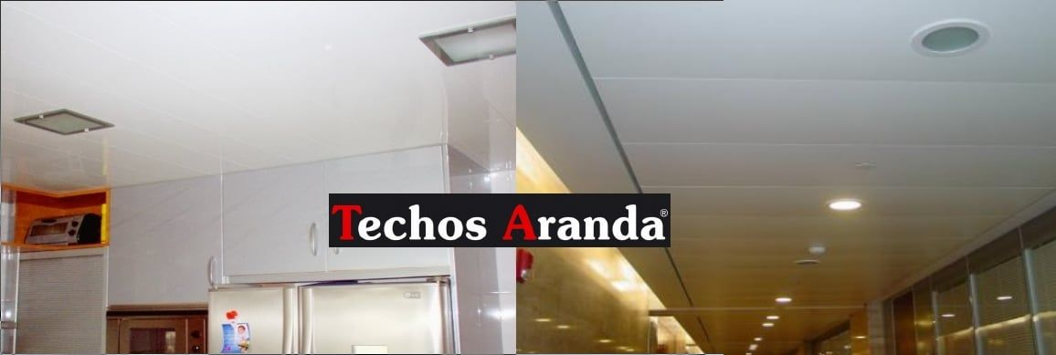 Falsos techos de aluminio en Lebrija