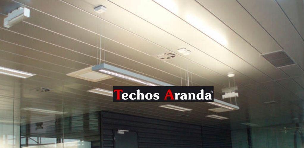 Falsos techos de aluminio en Linares