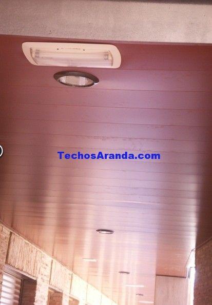 Falsos techos de aluminio en Mairena del Alcor