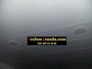 Falsos techos de aluminio en Mogán