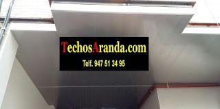 Falsos techos de aluminio en Moncada y Reixach
