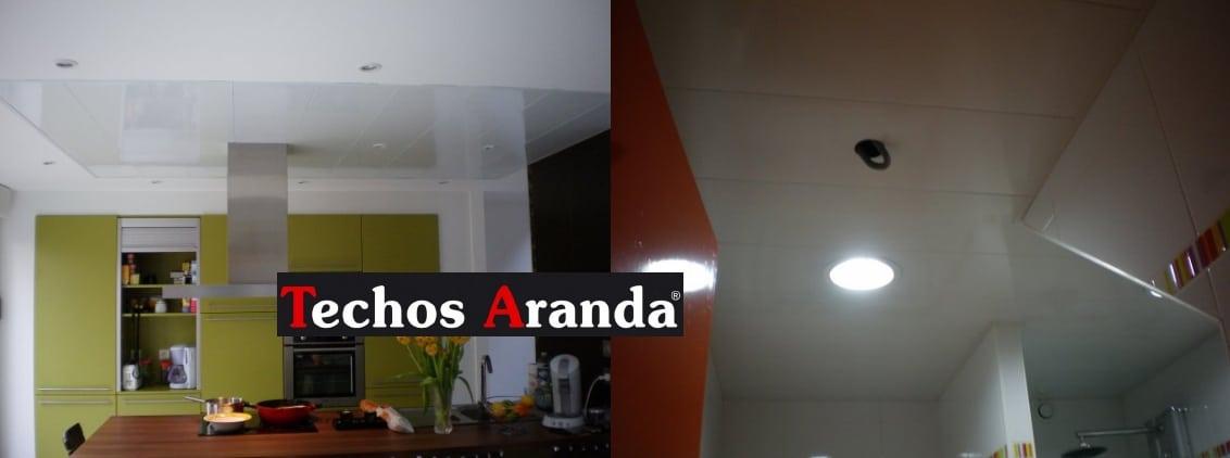 Falsos techos de aluminio en Moncada