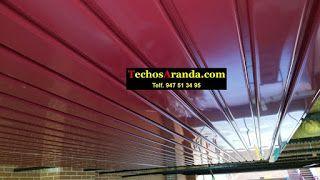 Falsos techos de aluminio en Mondragón