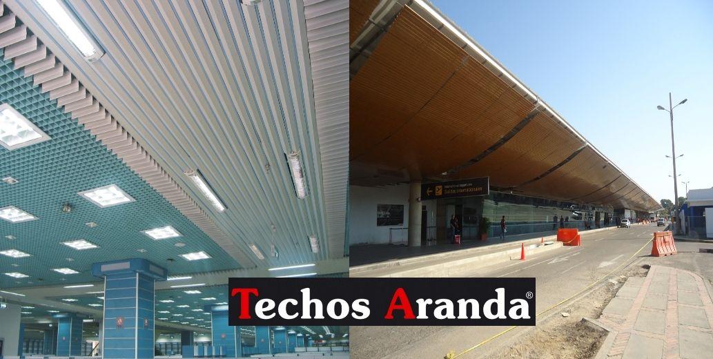 Falsos techos de aluminio en Morón de la Frontera
