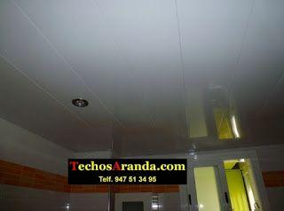 Falsos techos de aluminio en Onteniente