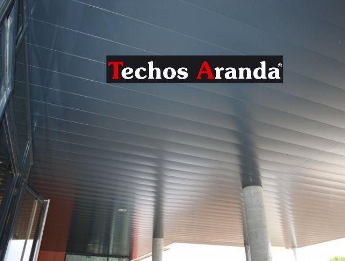 Falsos techos de aluminio en Portugalete