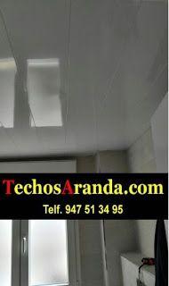 Falsos techos de aluminio en Riveira