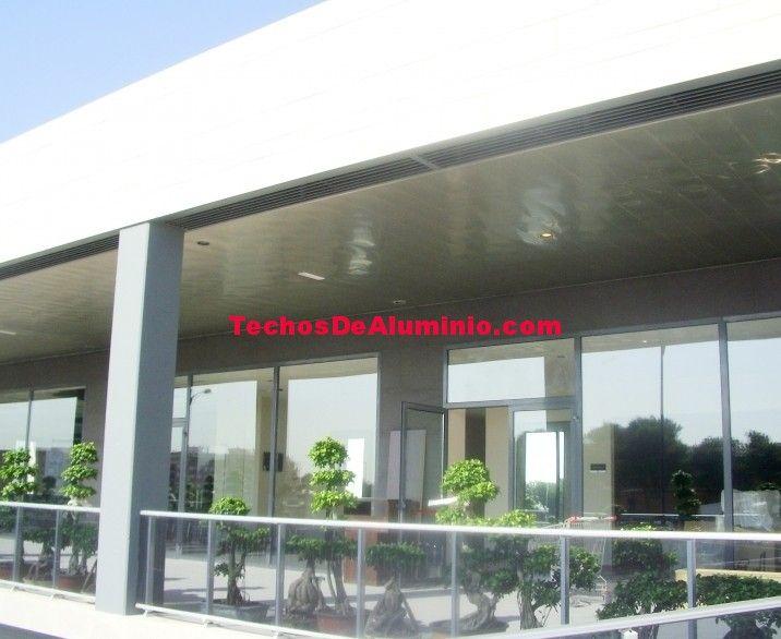 Falsos techos de aluminio en San Bartolomé de Tirajana