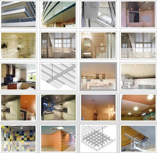 Falsos techos de aluminio en San Feliú de Llobregat