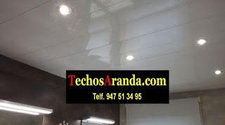 Falsos techos de aluminio en Villaviciosa de Odón