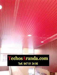 Falsos techos de aluminio en Villena