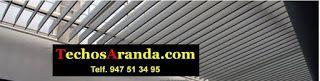 Techos aluminio Cantabria