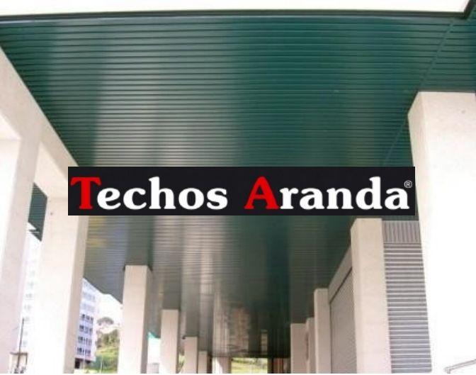 Techos aluminio Ferrol