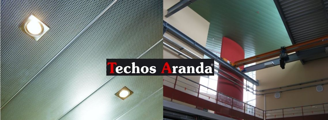 Techos aluminio Onda