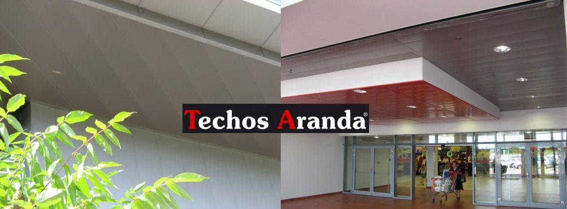 Techos aluminio San Pedro de Ribas