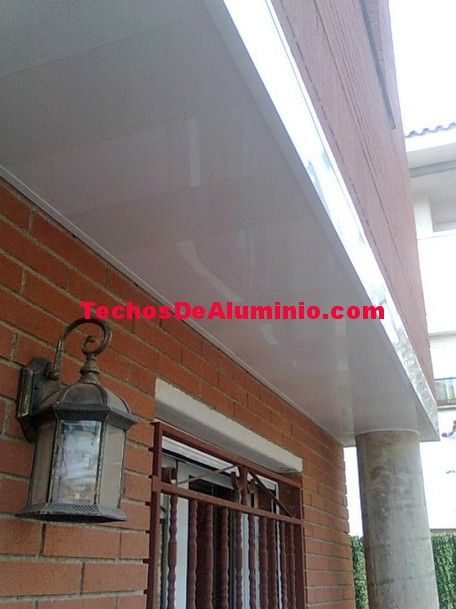 Techos aluminio a Coruña