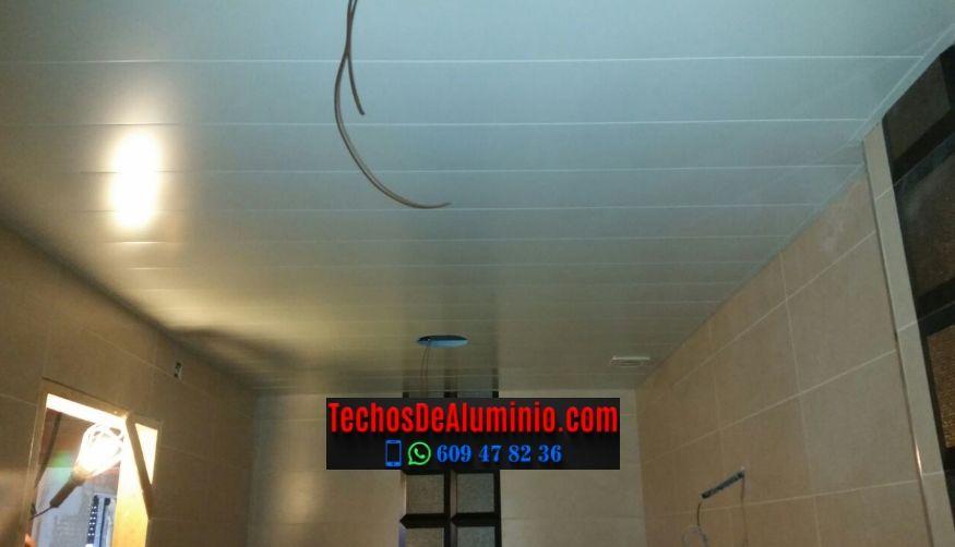 Techos de aluminio en Aliseda