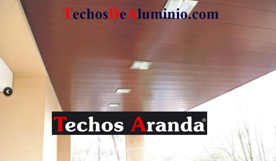 Techos de aluminio en Almunia de San Juan