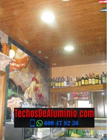 Techos de aluminio en Arroyo de la Luz