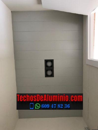 Techos de aluminio en Cachorrilla