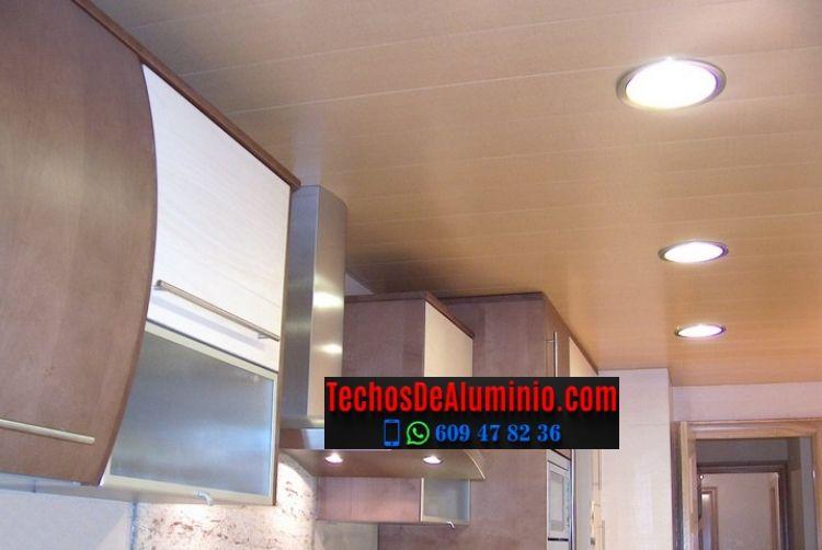 Techos de aluminio en Caminomorisco