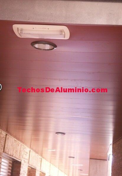 Techos de aluminio en Campos