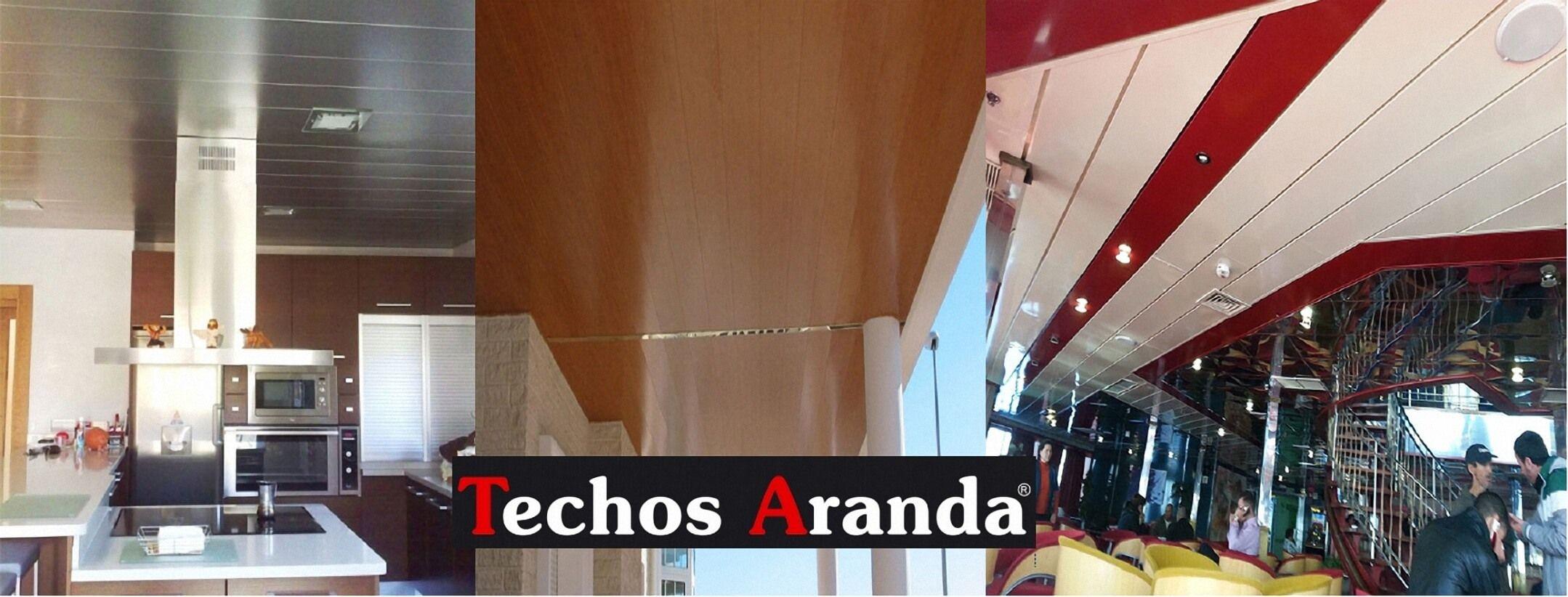 Techos de aluminio en Cardona