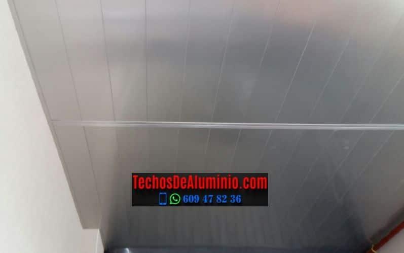 Techos de aluminio en Casas de Miravete