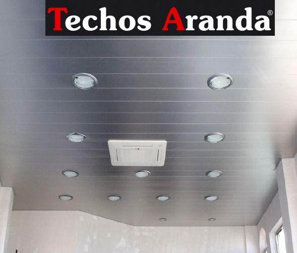Techos de aluminio en Casas de San Galindo