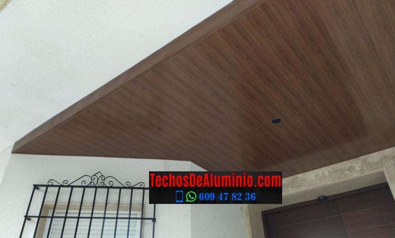 Techos de aluminio en Casas del Monte