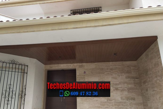 Techos de aluminio en Casatejada