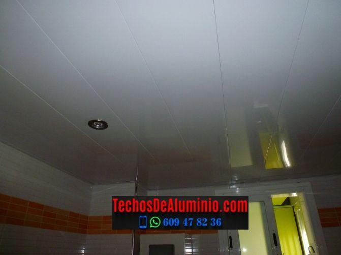 Techos de aluminio en Collado