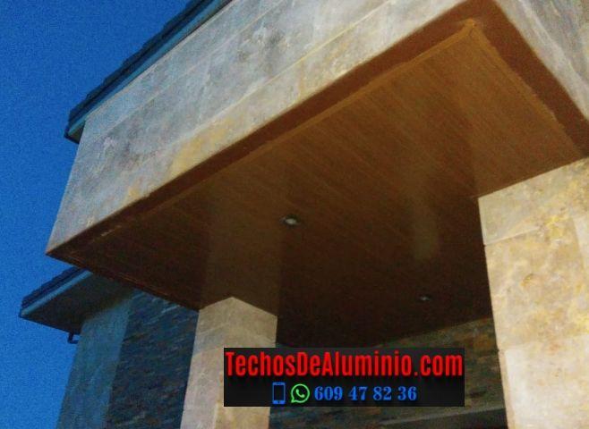 Techos de aluminio en Conquista de la Sierra