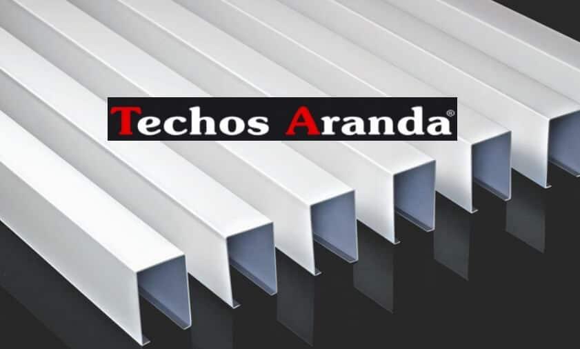 Techos de aluminio en Cristina