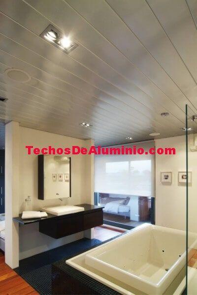 Techos de aluminio en Fanlo