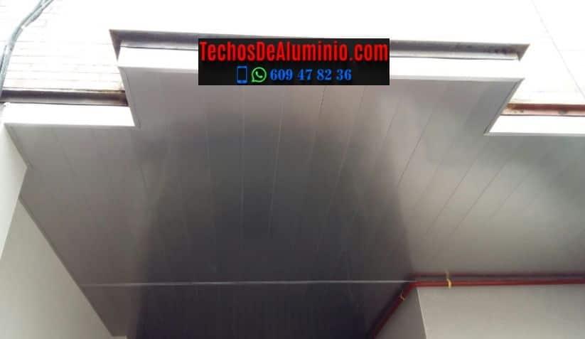 Techos de aluminio en Garrovillas de Alconétar