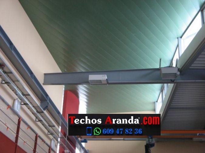 Techos de aluminio en La Granada