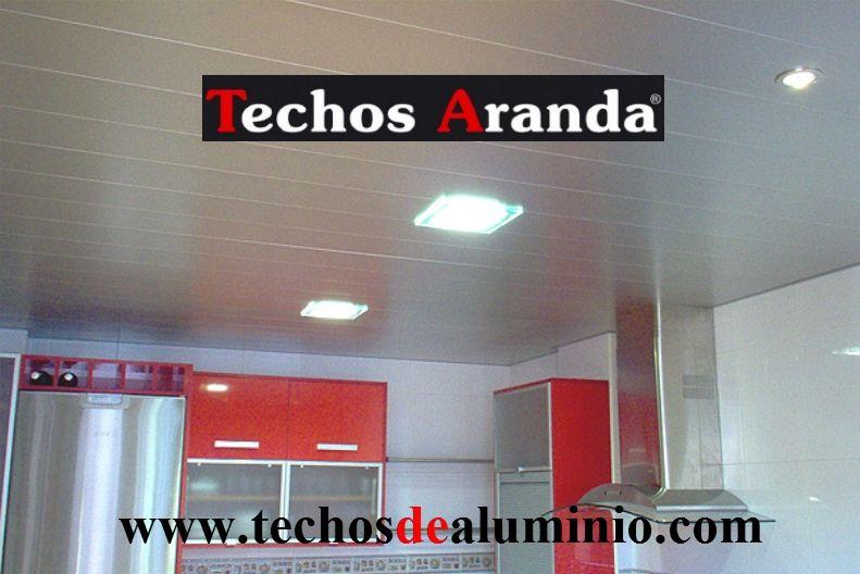 Techos de aluminio en Puebla de Beleña