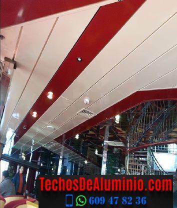 Techos de aluminio en Robledillo de Trujillo