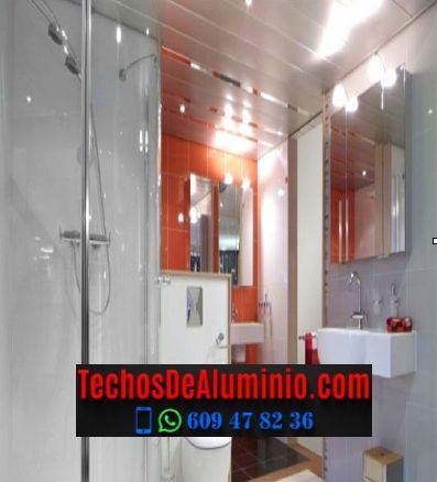 Techos de aluminio en Robledillo de la Vera