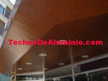Techos de aluminio en Sant Antoni de Portmany